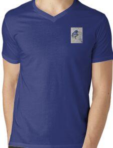 Little Kingfisher Mens V-Neck T-Shirt