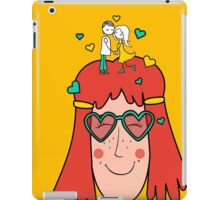 Love in the head iPad Case/Skin