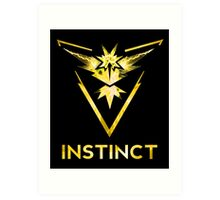 Team Instinct Art Print