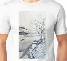 Study for 'Frosty Night at the River' Unisex T-Shirt