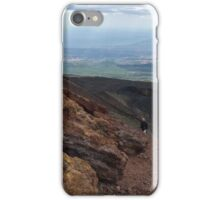 Etna view outs iPhone Case/Skin