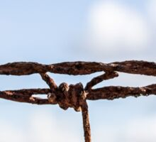 The barbed wire Sticker
