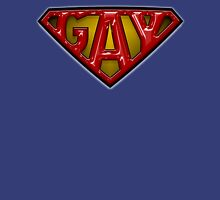 Gay Superman logo theme Unisex T-Shirt