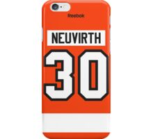 Philadelphia Flyers Michal Neuvirth Jersey Back Phone Case iPhone Case/Skin