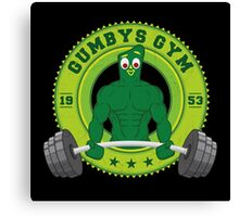 Gumby's Gym Canvas Print