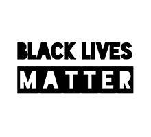 Black lives matter merchandise Photographic Print