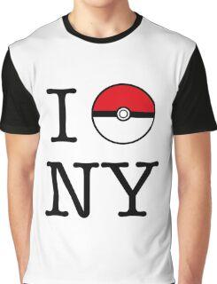 I Poke NY Graphic T-Shirt