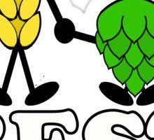 Best Buds for Beer Sticker