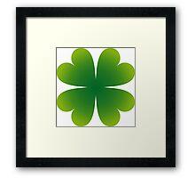 Irish Shamrock Framed Print