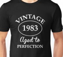 vintage 1983 aged to perfection Unisex T-Shirt