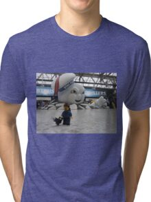 Attack of Stay Puft Tri-blend T-Shirt