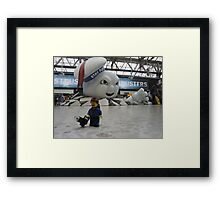Attack of Stay Puft Framed Print