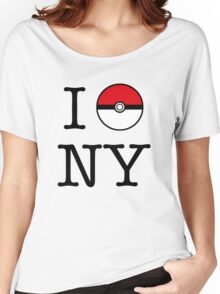 I Poke NY Women's Relaxed Fit T-Shirt
