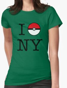 I Poke NY Womens Fitted T-Shirt