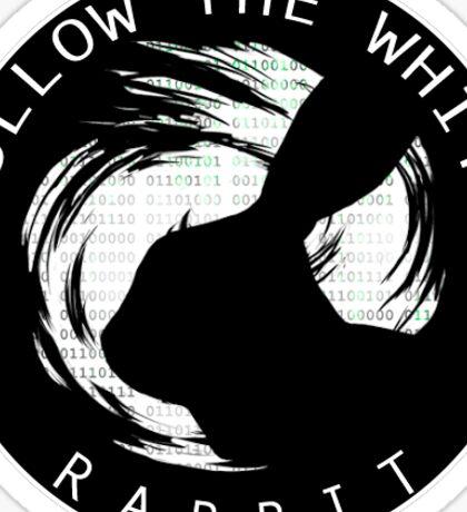 FWHIBBIT - Logo (ojo negro) Sticker