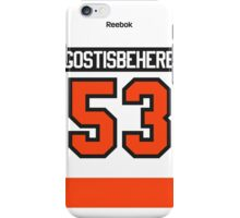 Philadelphia Flyers Shayne Gostisbehere Away Jersey Back Phone Case iPhone Case/Skin
