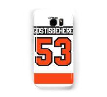 Philadelphia Flyers Shayne Gostisbehere Away Jersey Back Phone Case Samsung Galaxy Case/Skin