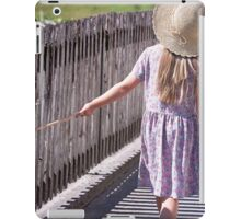 Girl explore the world iPad Case/Skin