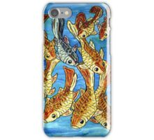 Nine Goldfish iPhone Case/Skin