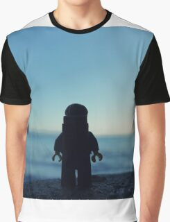 The Legobackpacker taking a break Graphic T-Shirt