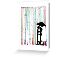 Watercolor Love Greeting Card