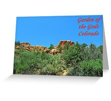 Garden of the Gods #11 Greeting Card