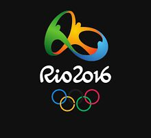 Olympic Rio 2016 (Black) Unisex T-Shirt