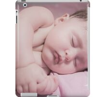 sleeping newborn baby iPad Case/Skin