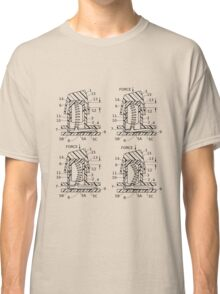 Buckling Spring Patent Drawing Classic T-Shirt