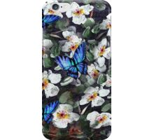 Butterflies and Dogwoods iPhone Case/Skin
