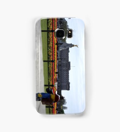 The Lego Backpacker checking out Buckingham Palace Samsung Galaxy Case/Skin
