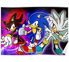 Sonic & Friends Poster