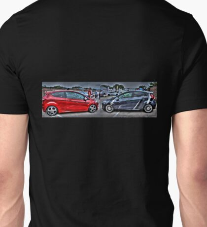 Red and Grey Fiestas Unisex T-Shirt