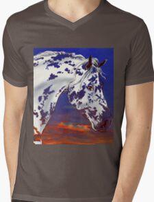 Spot in a Sunset Mens V-Neck T-Shirt