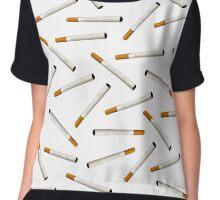 Cigarette pattern Chiffon Top