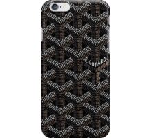 Goyard Case Black iPhone Case/Skin