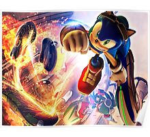 Sonic Surf Poster