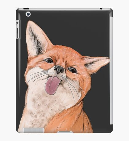 Silly fox iPad Case/Skin