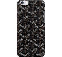 Goyard Perfect Case black iPhone Case/Skin