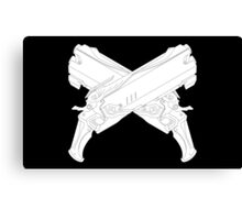 Reaper's Shotguns Canvas Print