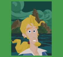 Guybrush Threepwood Kids Tee