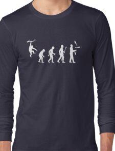 Funny Evolution Juggling Long Sleeve T-Shirt