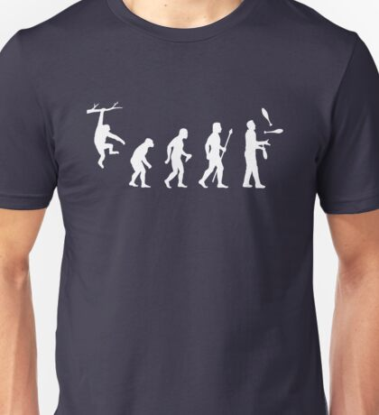 Funny Evolution Juggling Unisex T-Shirt