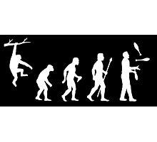Funny Evolution Juggling Photographic Print