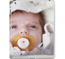 Little newborn baby iPad Case/Skin
