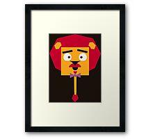 Sophisticated Lion Framed Print