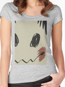 Mimikyu print T Women's Fitted Scoop T-Shirt