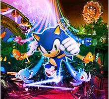 Sonic Party Photographic Print
