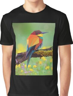 Bird Pinting Vector Graphic T-Shirt