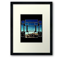 Pieces of View Framed Print